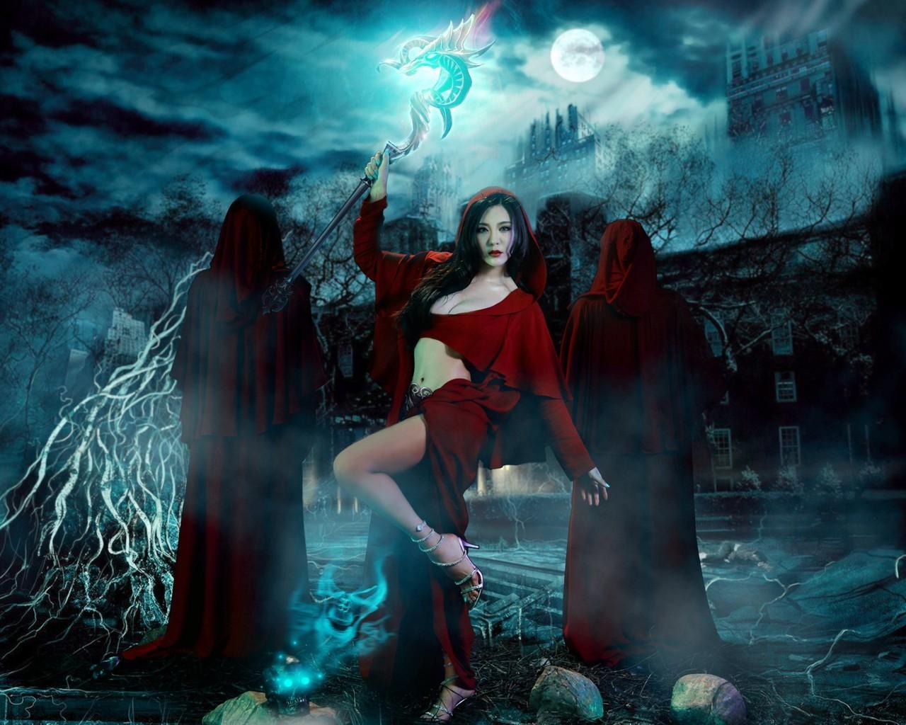 魔域之亡灵公主宽屏壁纸图片
