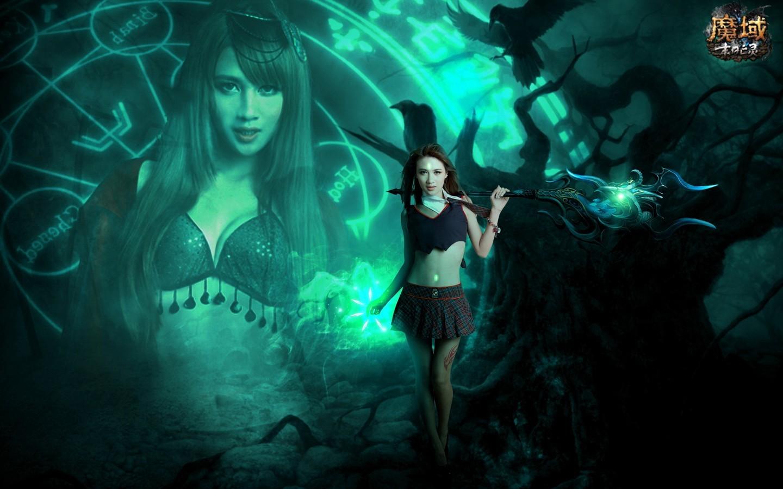 魔域之亡灵公主桌面壁纸