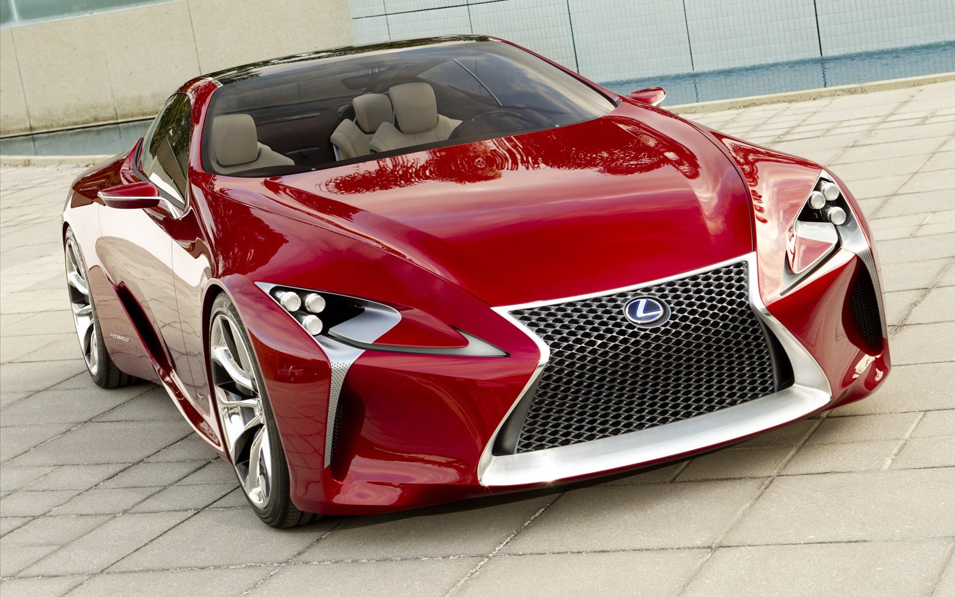 雷克萨斯lf lc sports coupe concept 2012款跑车壁纸