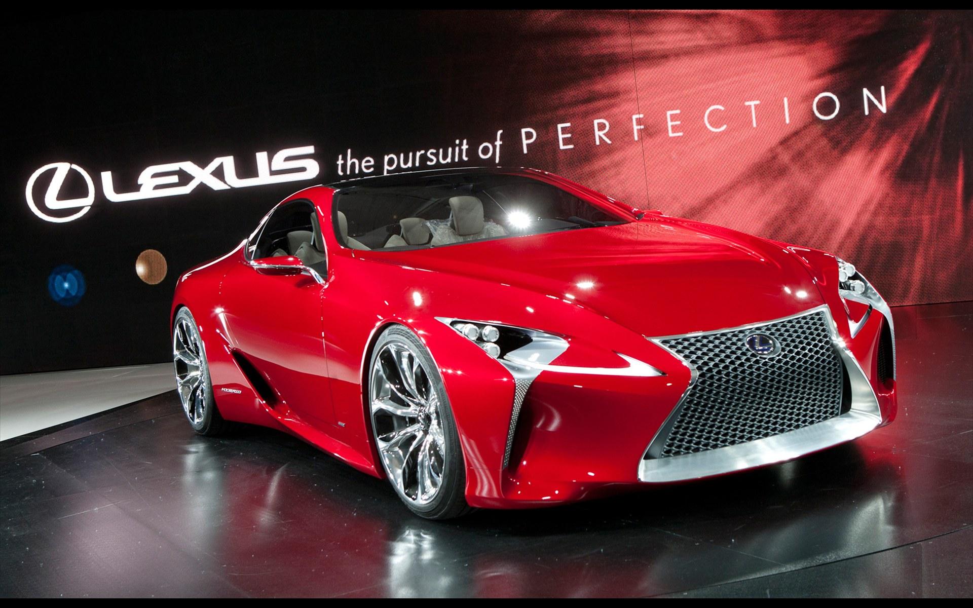 雷克萨斯lf lc sports coupe concept