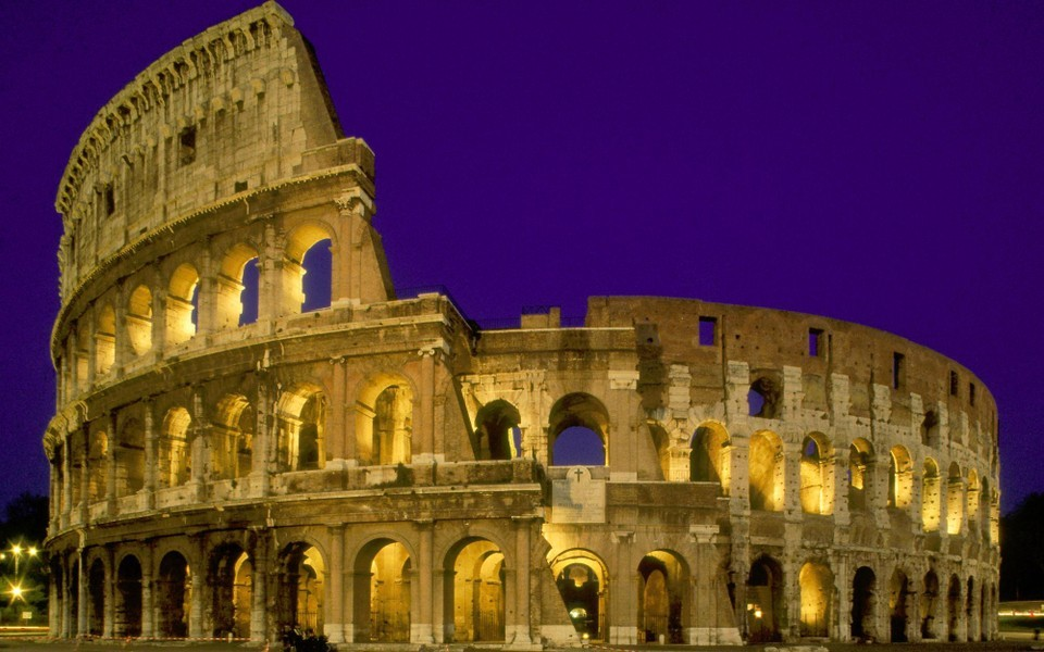 famous landmarks著名建筑宽屏壁纸图片