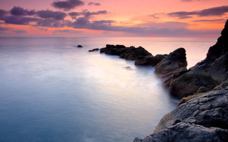 海滨海岸梦幻高清桌面壁纸