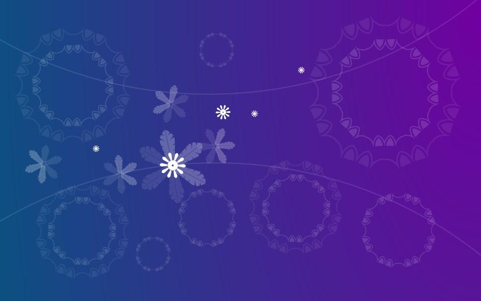 花纹背景素材深蓝色有边框