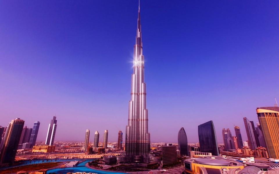 迪拜城市风光高清桌面壁纸 风景壁纸 壁纸下载 美