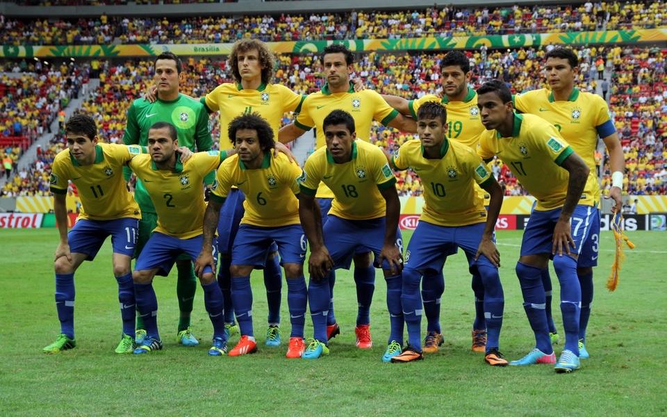 2014世界杯巴西队壁纸图片