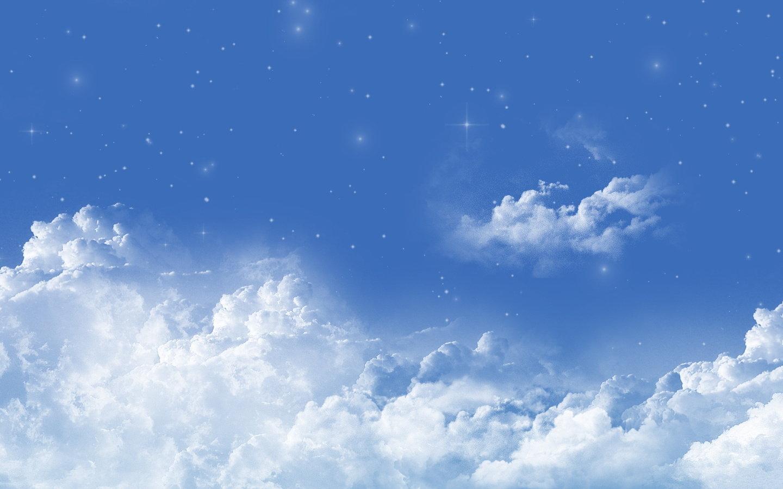 蓝天白云壁纸 xp蓝天白云壁纸 蓝天白云桌面壁纸