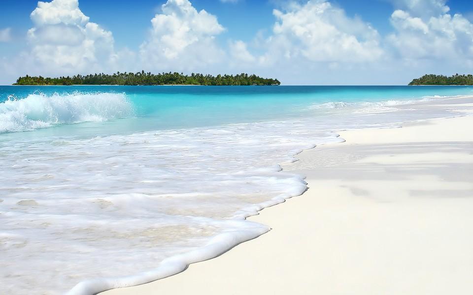 笔记本壁纸 海滩壁纸 高清沿海风景桌面壁纸下载
