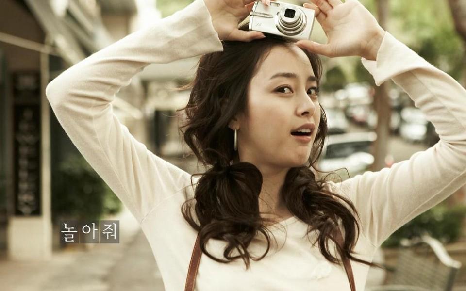 不老童颜!韩国第一美女金泰熙绝美生活照   这些年韩国第一