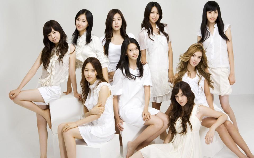 韩国美女明星组合壁纸