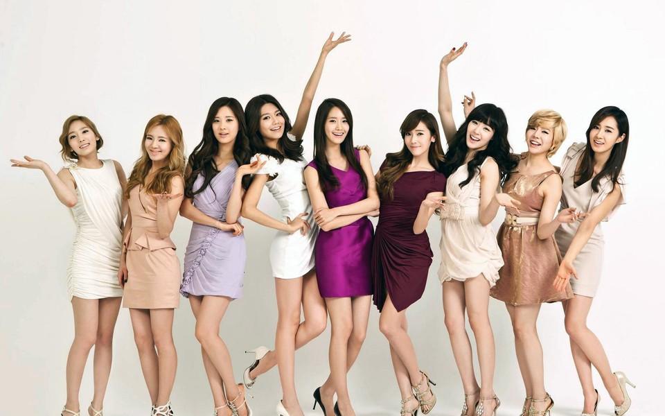 韩国少女时代明星组合高清桌面壁纸下载