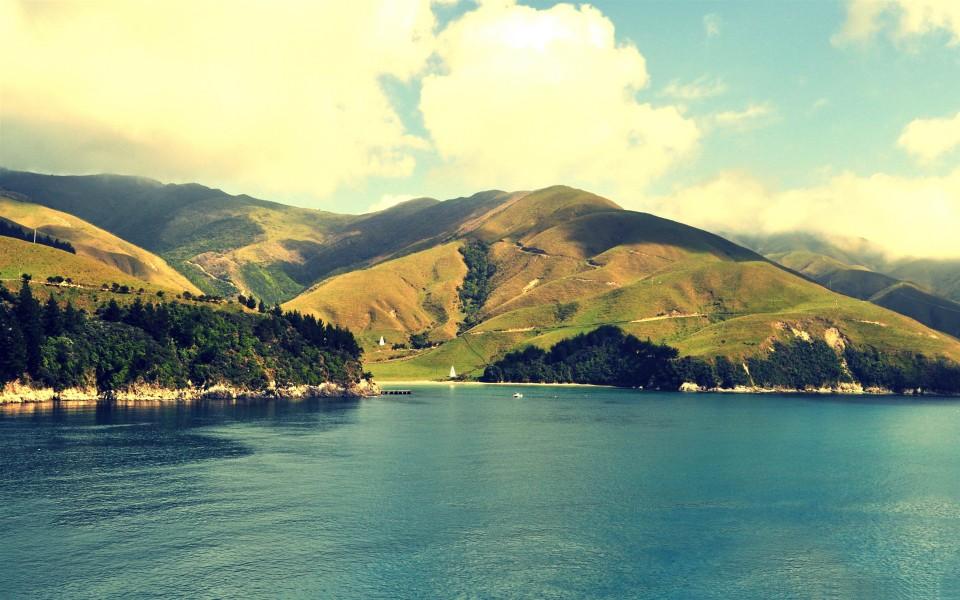 电脑壁纸 自然风景壁纸 新西兰的诱人美景桌面壁纸下载