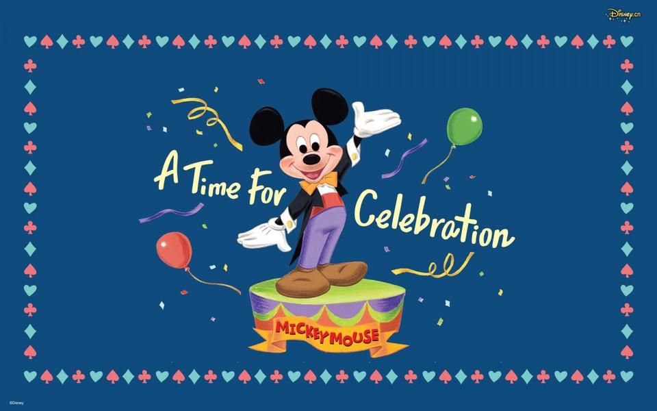 迪士尼可爱米老鼠壁纸