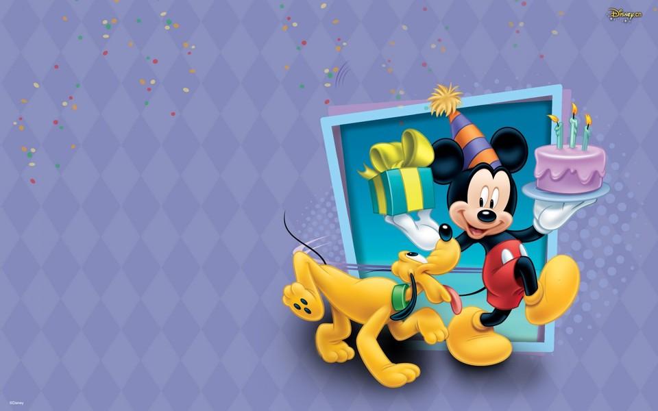笔记本壁纸 动漫壁纸 迪士尼可爱米老鼠壁纸下载