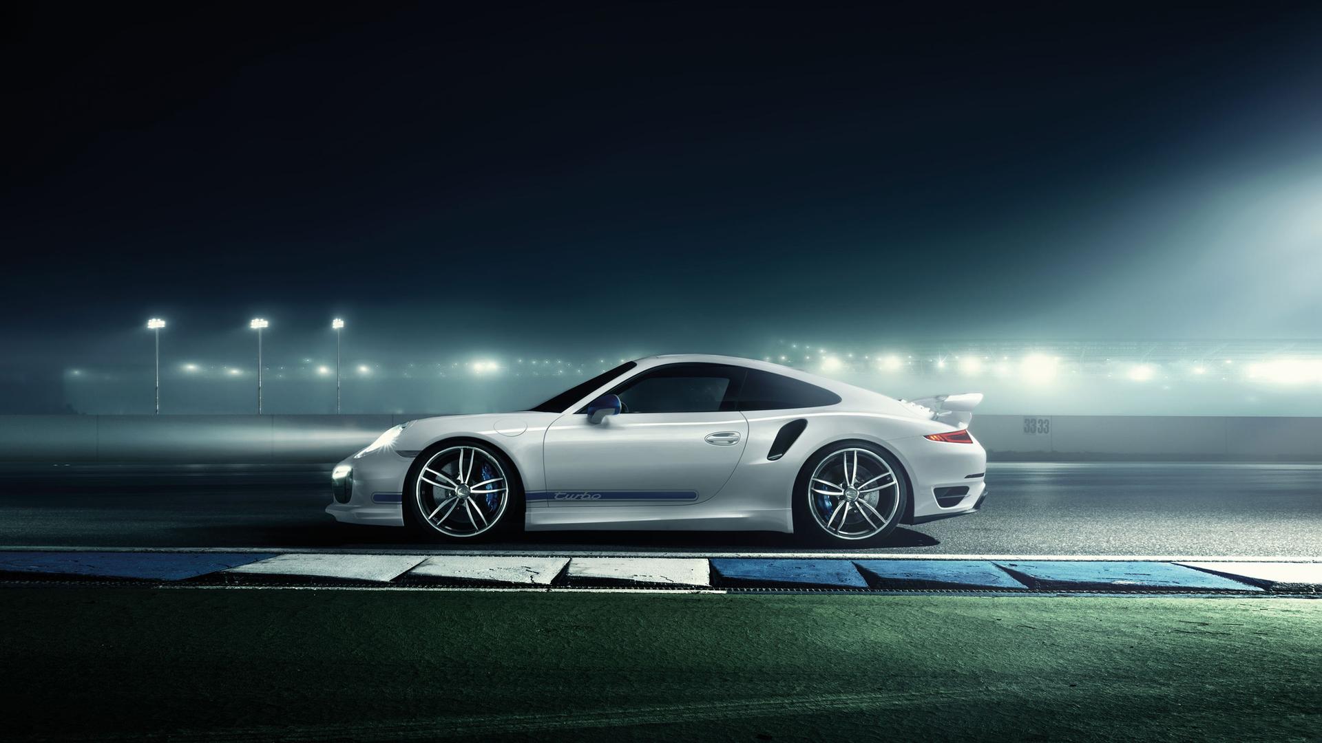 2014保时捷911 turbo 高清电脑壁纸 桌面宽屏高清图片