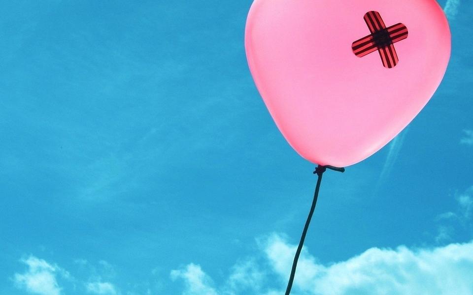 气球意境图片素材