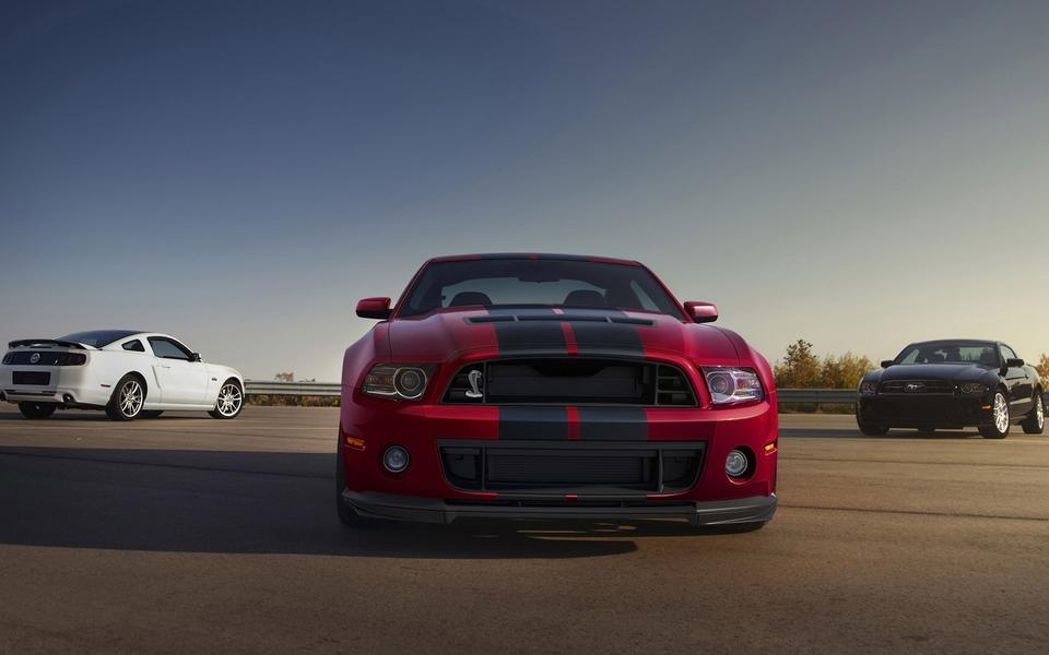 2014 Ford Shelby GT500 福特野马高清图片