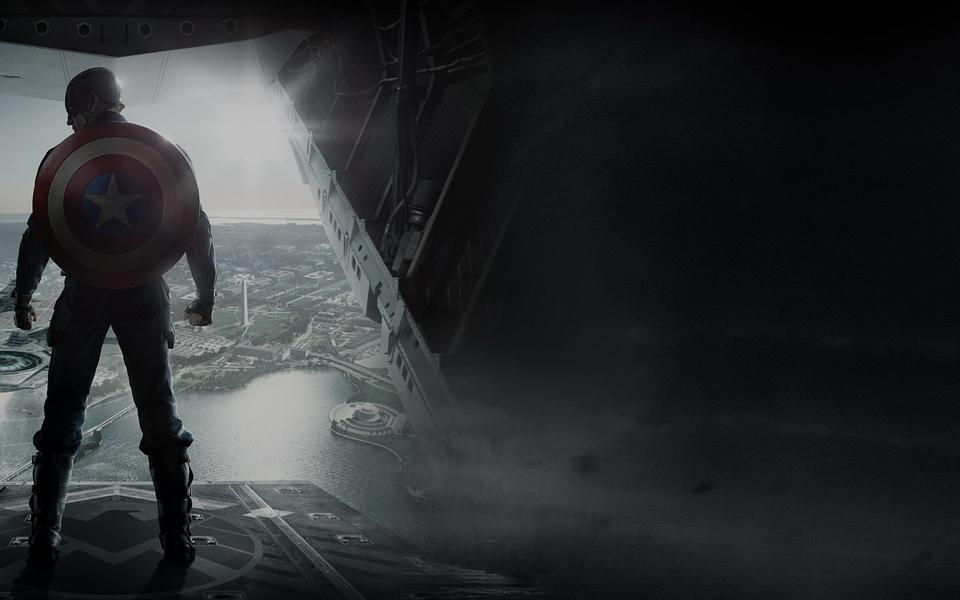 美国队长2:冬日战士电脑壁纸