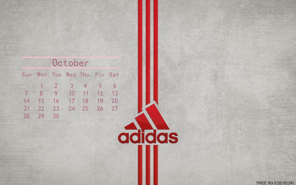 adidas经典品牌桌面壁纸