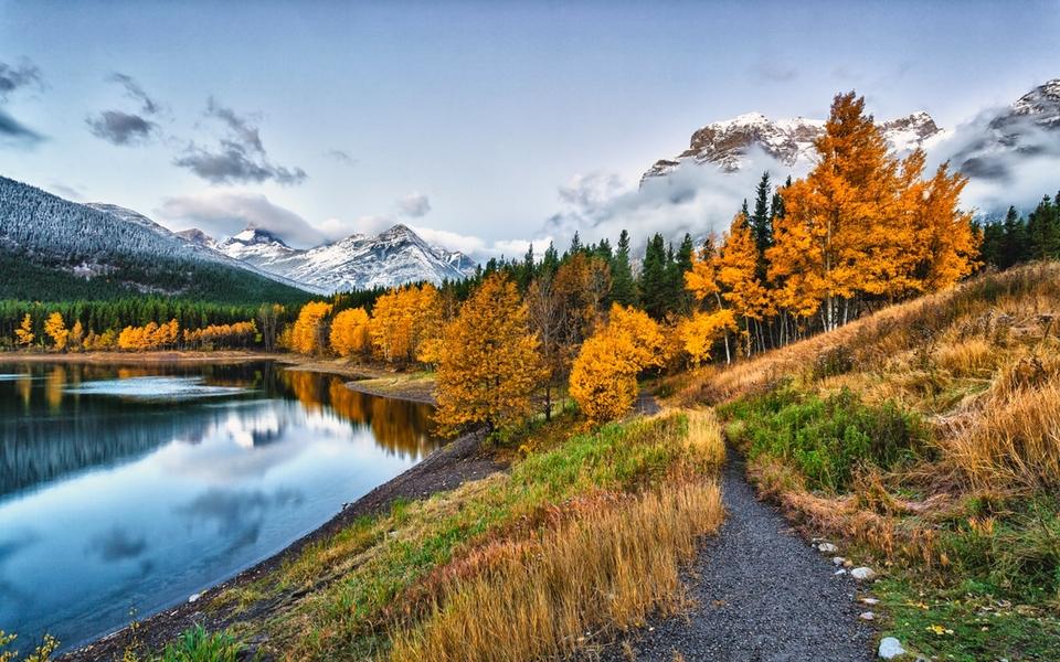 《秋天的自然风景》::秋天风景简笔画大全::秋天的30