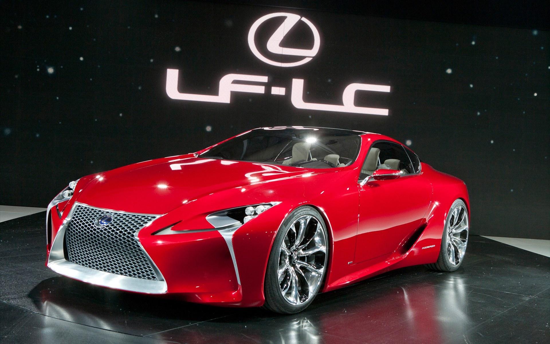 雷克萨斯LF LC Sports Coupe Concept 2012款跑车壁纸高清图片