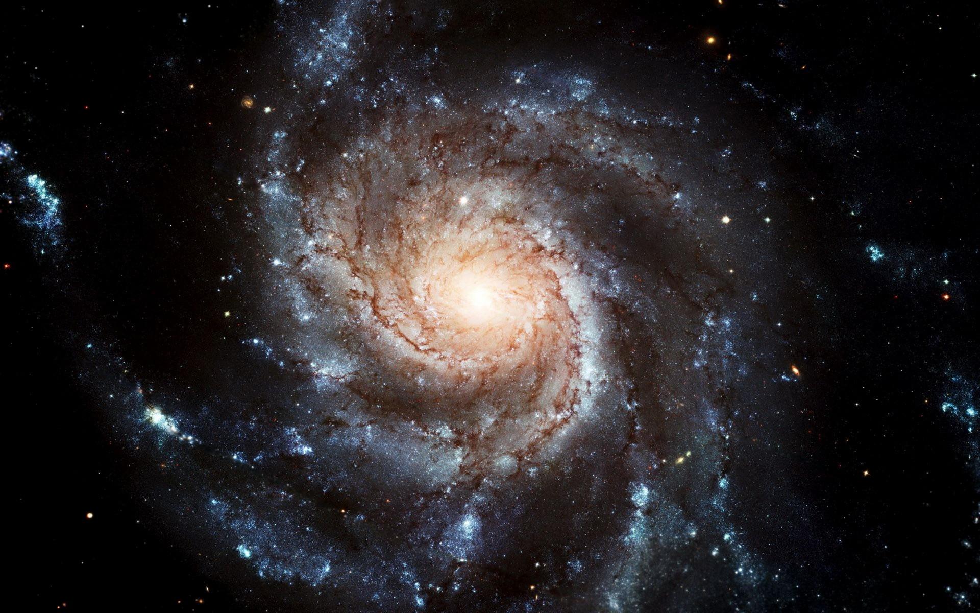 浩渺星系桌面壁纸