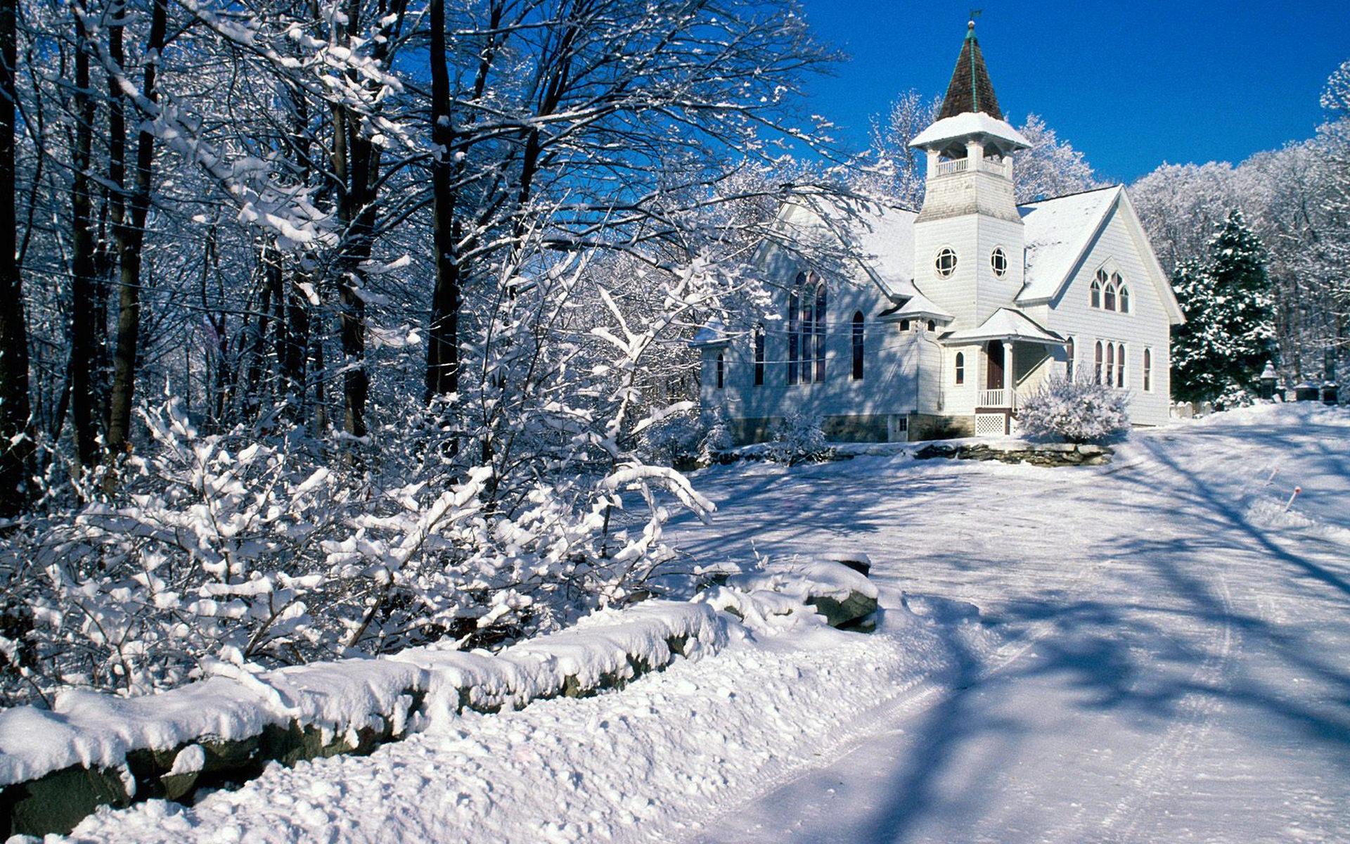 雪景,冬天,蓝天,冬季,阳光,雪中别墅,小道,户外,小房子,城堡,木房子,下雪,寒冬,白雪皑皑