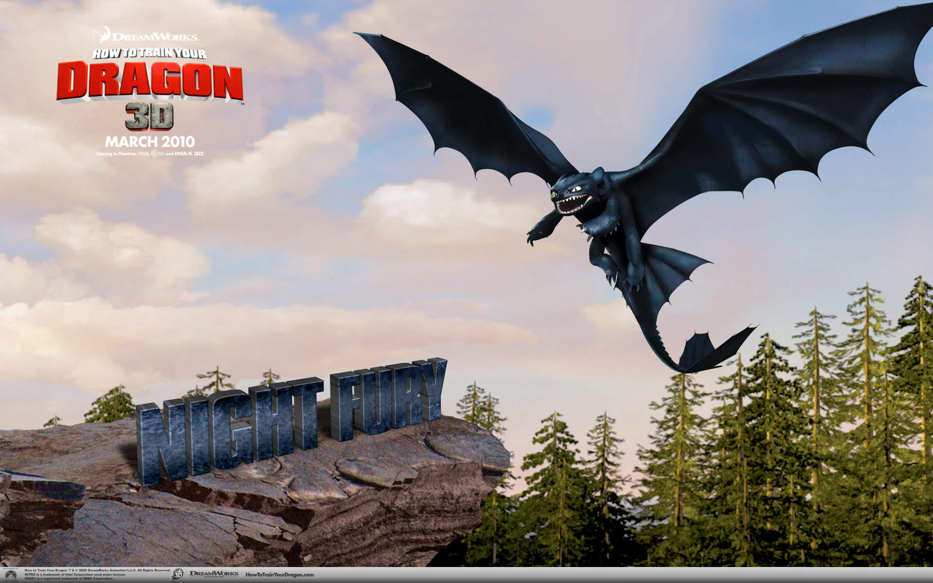 驯龙高手 电影桌面壁纸图片