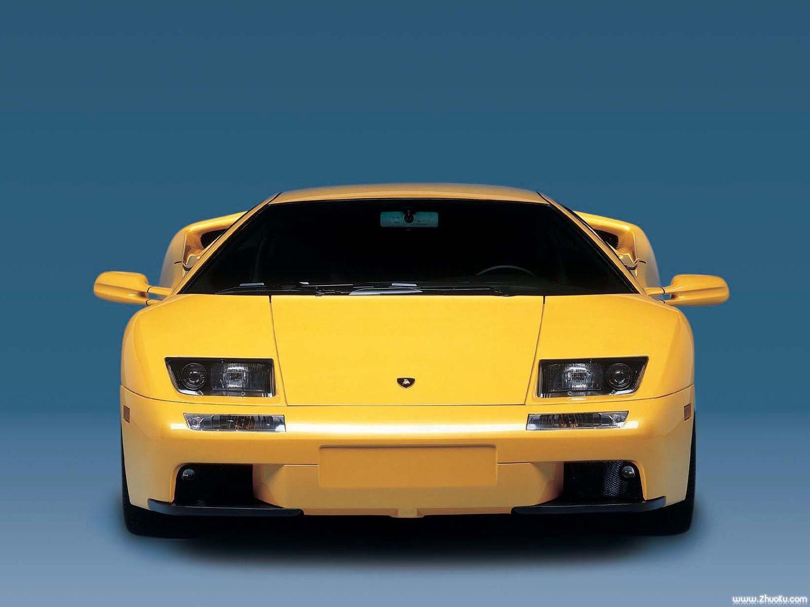 黄色兰博基尼汽车壁纸图片