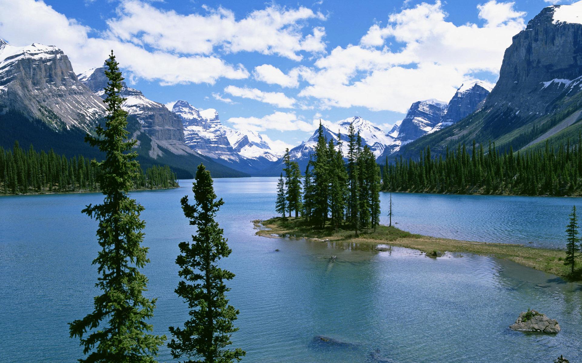 山水如画风景高清桌面壁纸图片