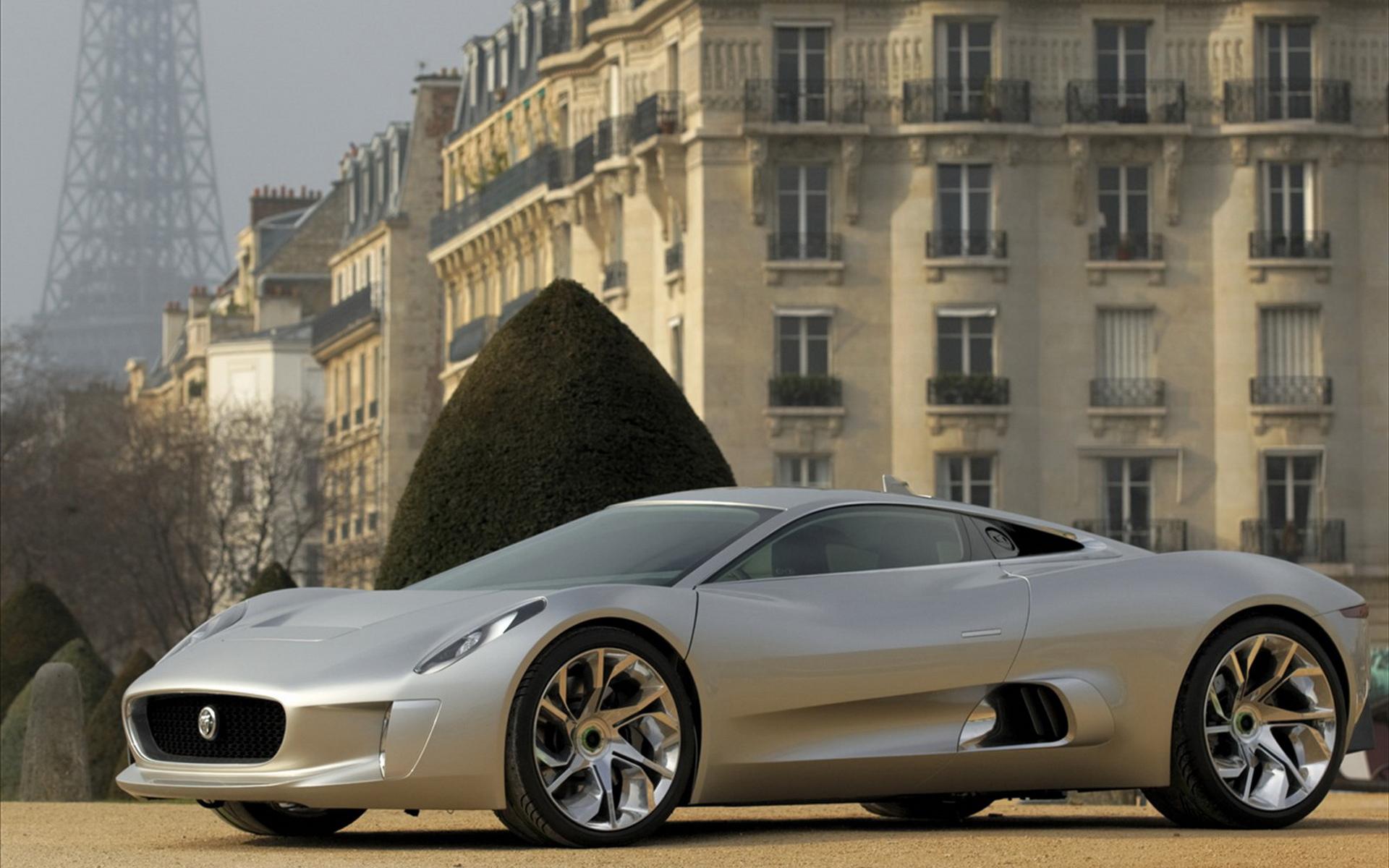 Jaguar 捷豹最新跑车电脑桌面壁纸图片