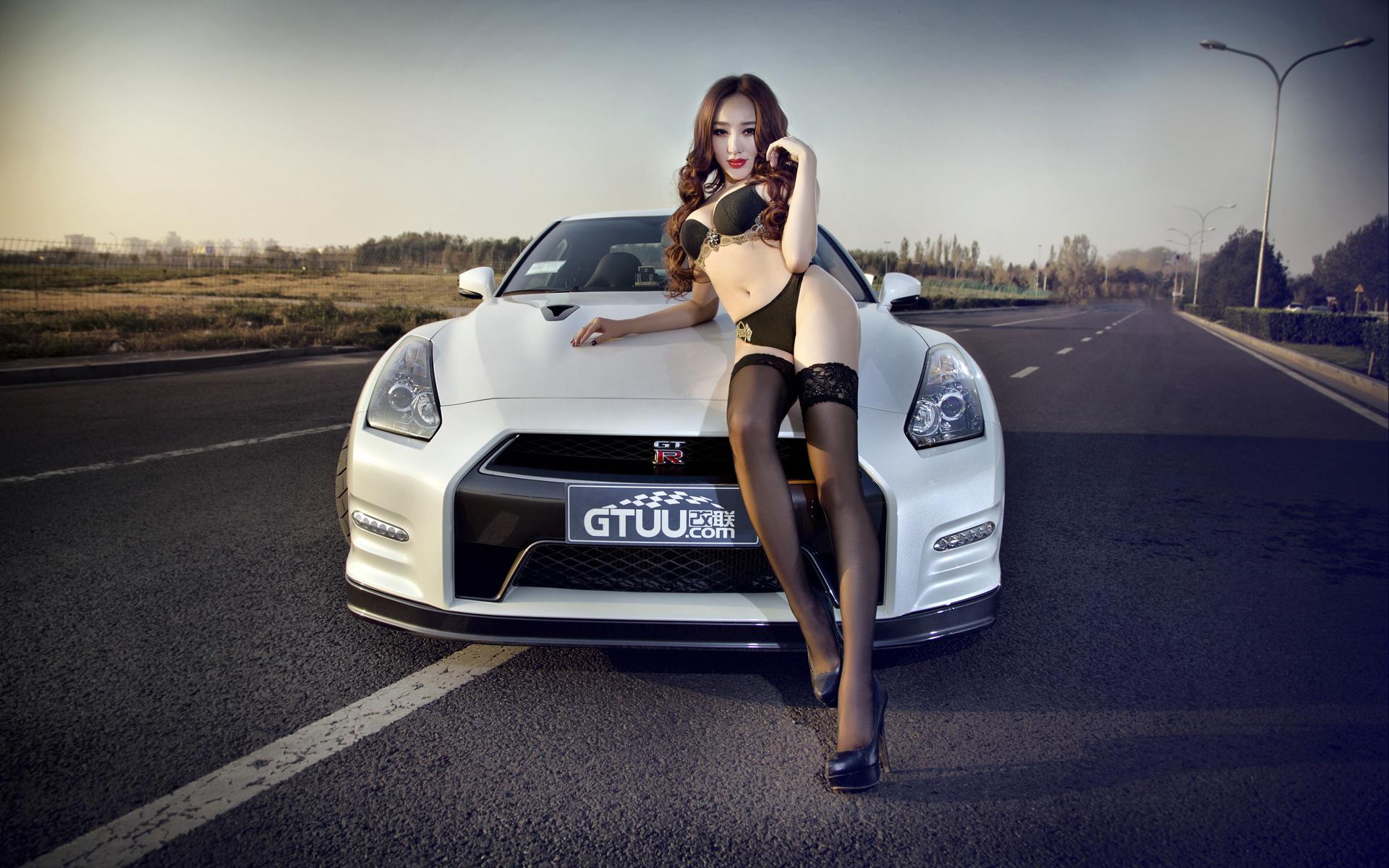 日产GTR改装跑车主题壁纸高清图片