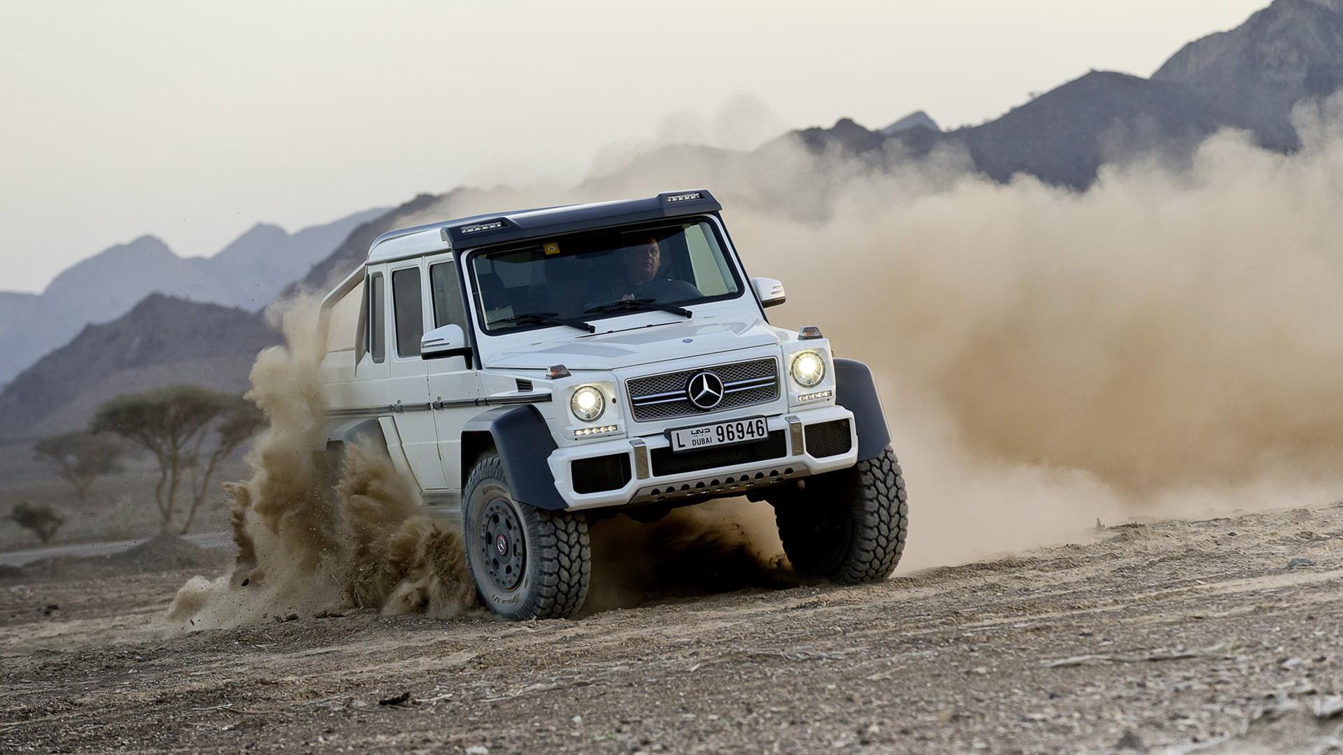 Mercedes Benz奔驰越野车 G63 AMG壁纸高清图片
