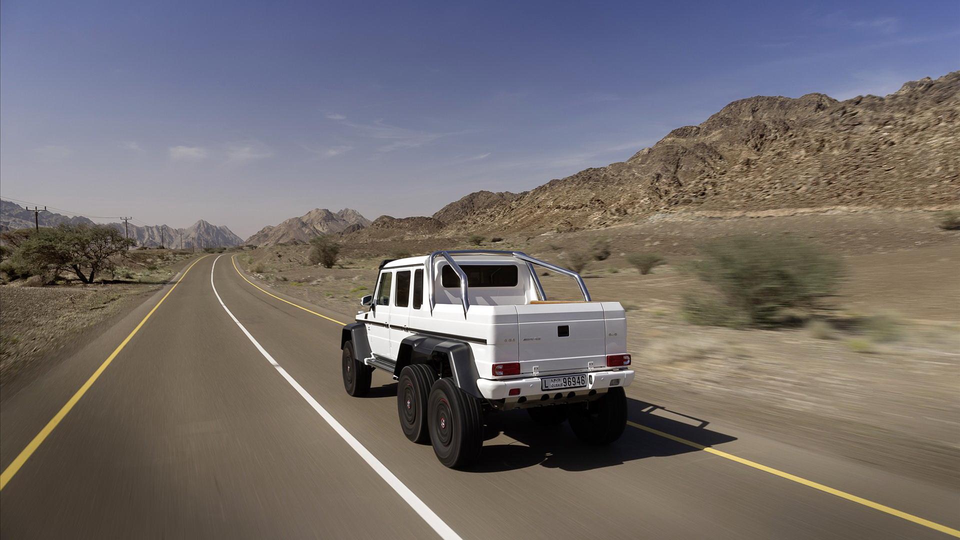 rcedes Benz奔驰越野车 G63 AMG壁纸高清图片