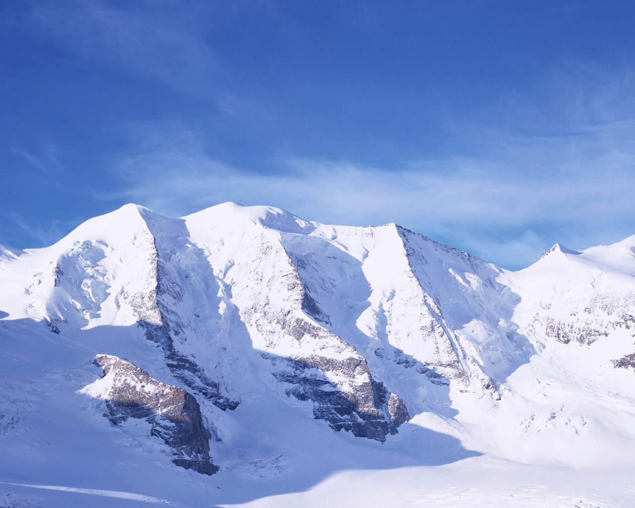 高清雪景电脑桌面壁纸图片