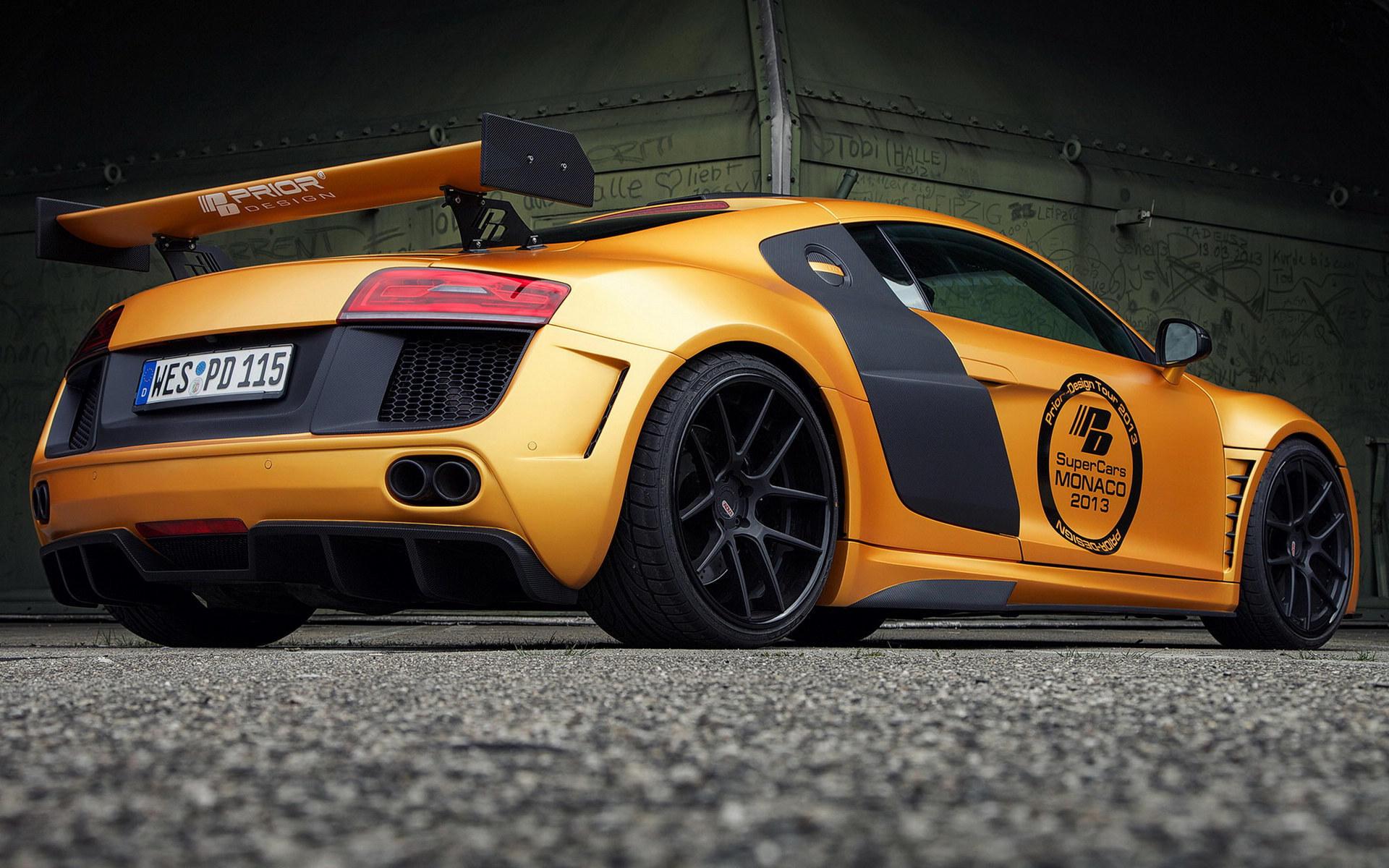 奥迪R8 GT850超级跑车高清桌面壁纸高清图片