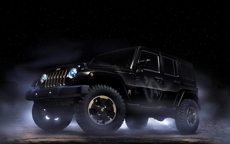硬派越野jeep高清汽车桌面壁纸 高清图片