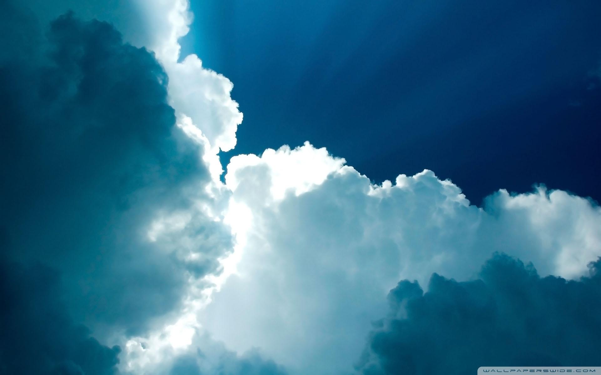 白云蓝天大海简笔画高清图片::蓝天白云的简笔画图片