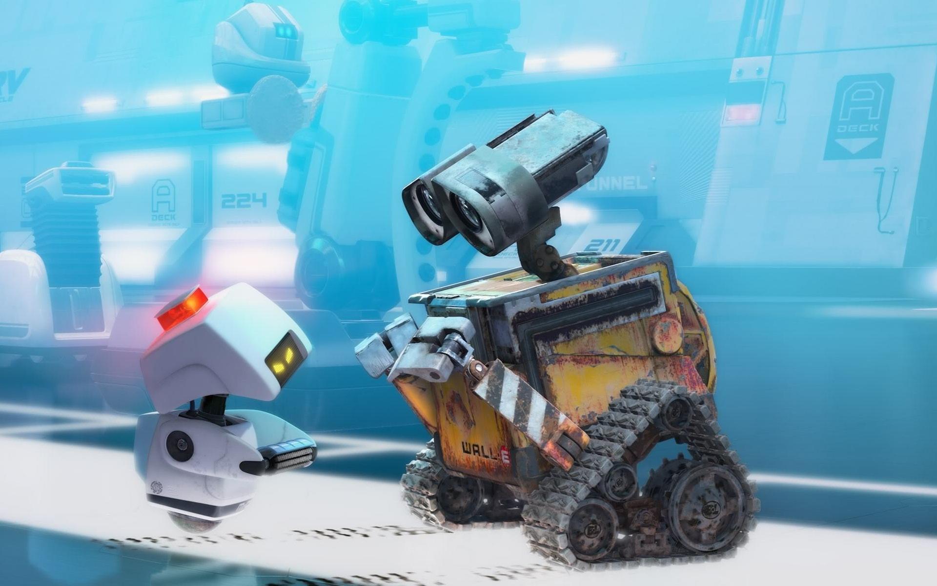 机器人瓦力高清壁纸