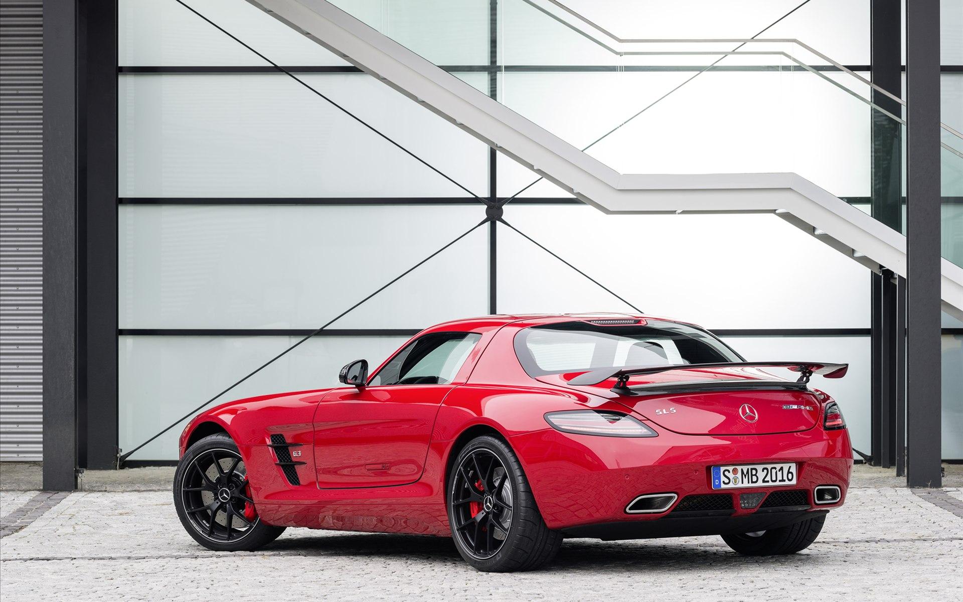 2014款梅赛德斯奔驰SLS AMG GT 高清壁纸高清图片