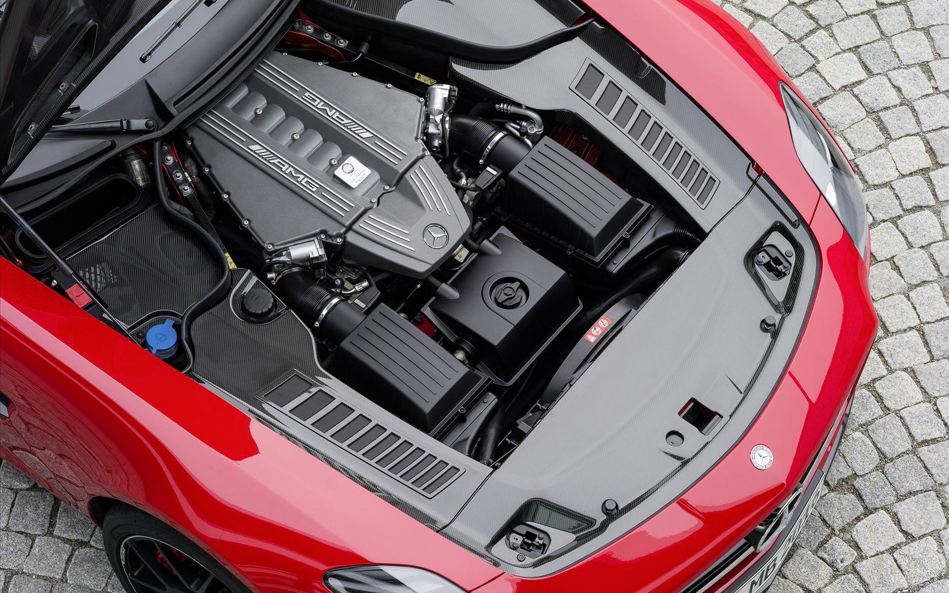 14款梅赛德斯奔驰SLS AMG GT 高清壁纸高清图片