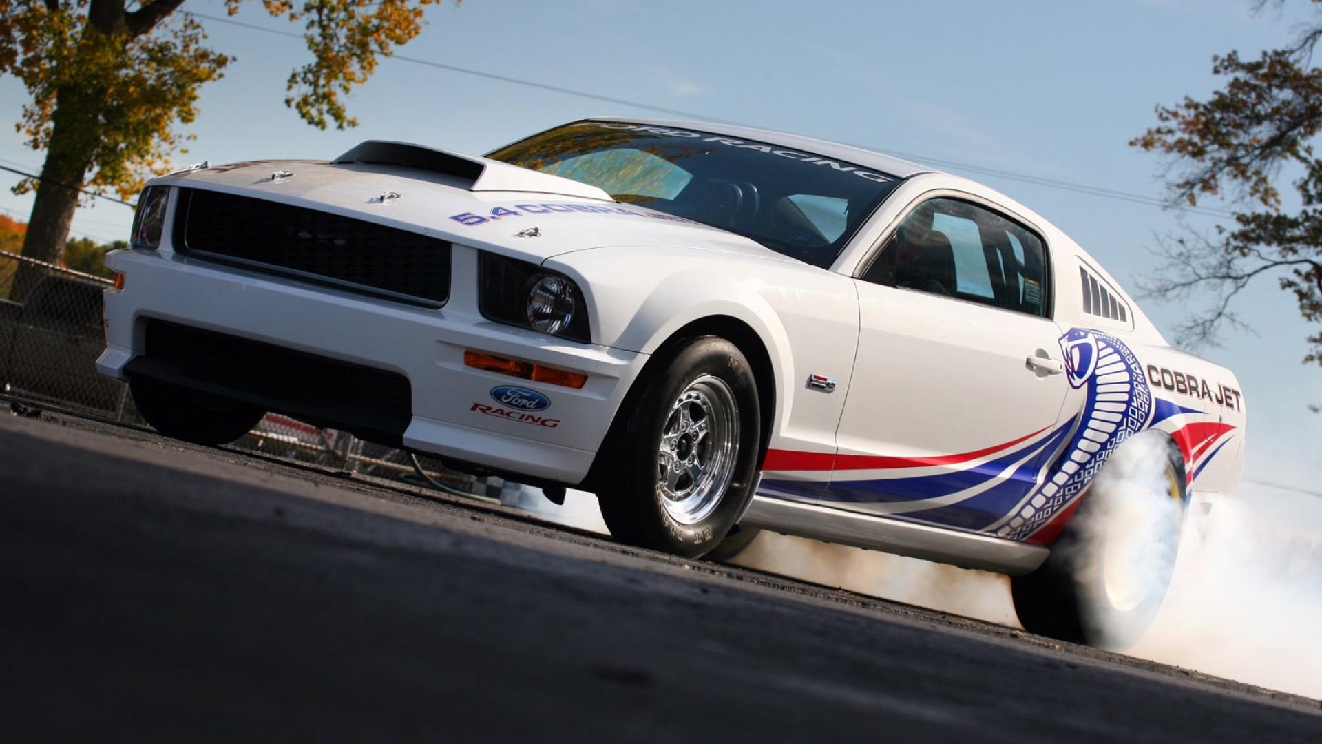 美国肌肉跑车福特野马高清壁纸高清图片