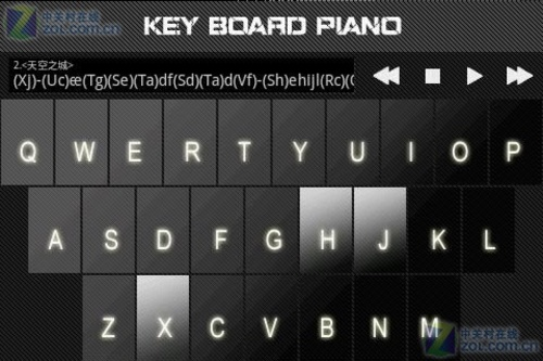 【键盘钢琴】安卓版键盘钢琴 2.3下载-zol手机游戏