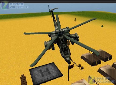飞行游戏 战斗直升机3d飞行  应用截图