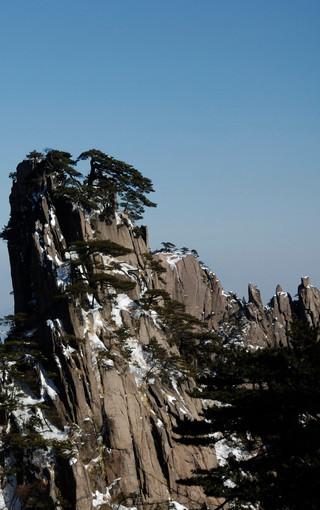 风景壁纸 山水风景壁纸 黄山险峰高清壁纸   (3/43)