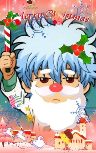 银魂圣诞主题高清壁纸