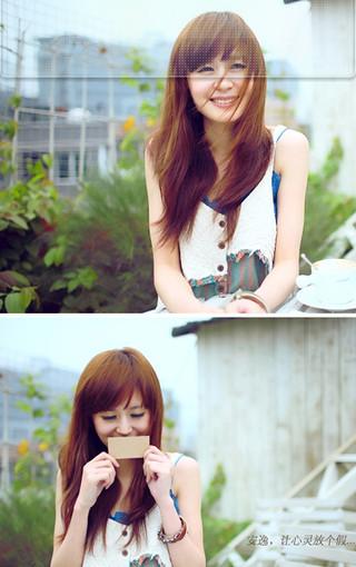 画面唯美的可爱女生壁纸-zol手机壁纸