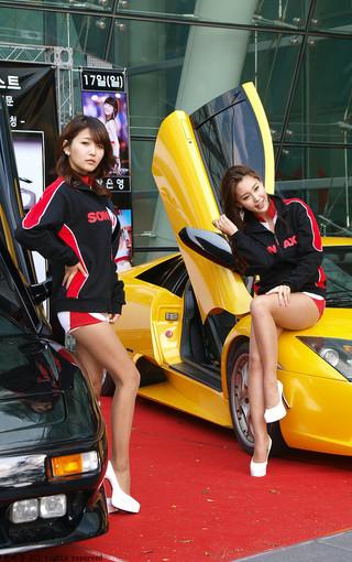 双胞胎车模性感壁纸 第16页-zol手机壁纸