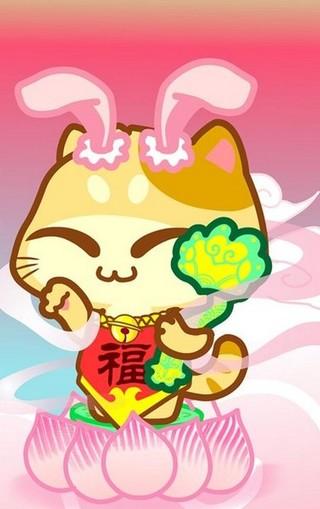 台湾卡通木木猫壁纸图片