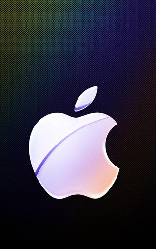 苹果logo高清壁纸图片