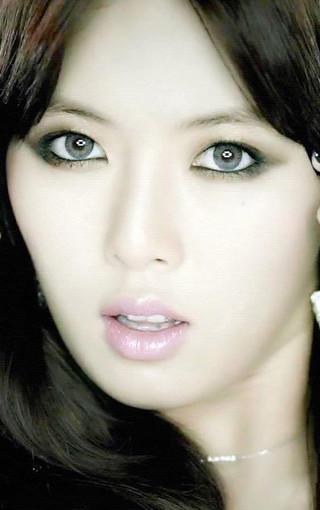 韩国性感女星金泫雅壁纸